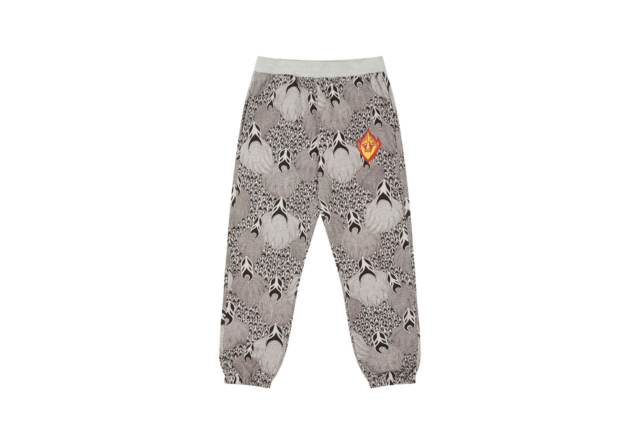 PALACE SUBURBAN BLISS GHOST JOGGERS GREY MARL