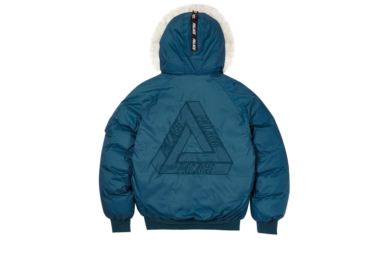 P-2B SHORT PARKA BLUE