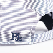 PJ'S 6-PANEL NAVY / WHITE STRIPES