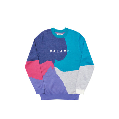 WHIRL KNIT NAVY / PINK / PURPLE