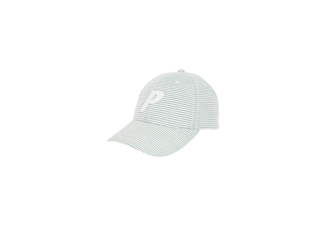 P 6-PANEL THIN STRIPE GREEN