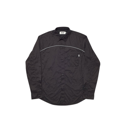 SHELL OUT SHIRT BLACK