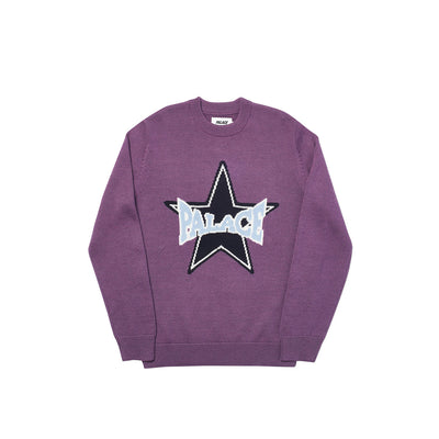 STAR KNIT PURPLE