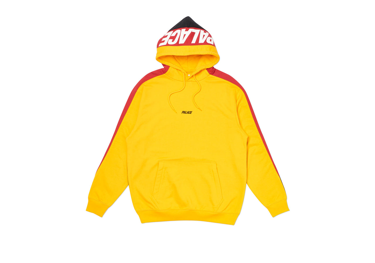 CATCH UP HOOD YELLOW / RED / BLACK