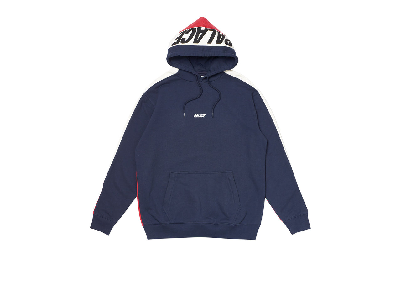 CATCH UP HOOD NAVY / WHITE / RED