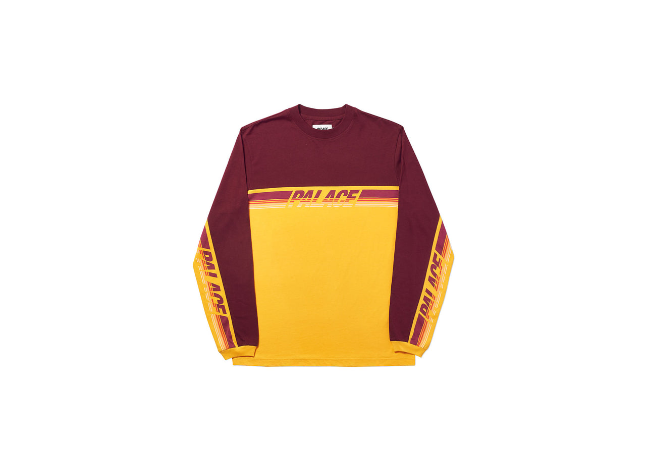 CHATTETH LONGSLEEVE BURGUNDY