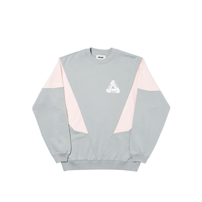 DROPPETH CREW GREY / PINK