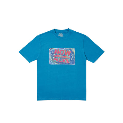 NOW THAT'S WHAT I CALL A PALACE T-SHIRT BLUE