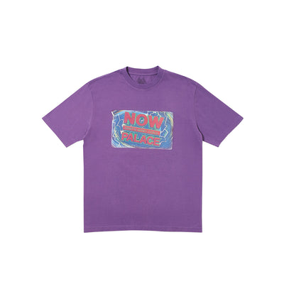 NOW THAT'S WHAT I CALL A PALACE T-SHIRT PURPLE