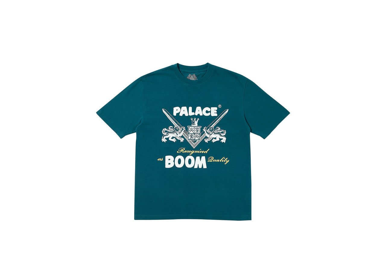 BOOM QUALITY T-SHIRT FOREST GREEN