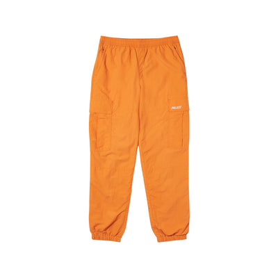 SHELL CARGO PANTS ORANGE