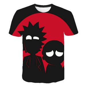 2019 funny 3D man t shirt kids Rick and Morty One piece children's Brand tshirt Summer Anime off white Fashion casual Streetwear