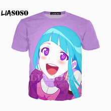Load image into Gallery viewer, 2019 3D Print Women Men Anime MEMEME Tshirt Summer T-shirt Hip Hop Pullover Funny Harajuku Sexy Hip Hop Tshirt