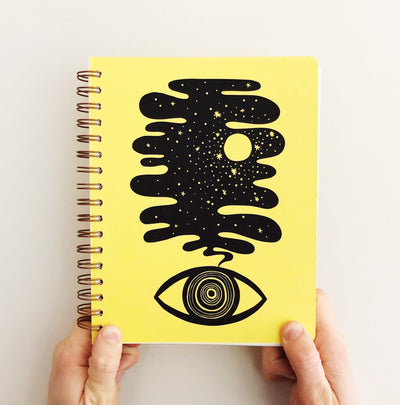 Eye Dream Journal in Lemon (WHOL)