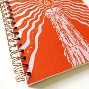Candlelight Journal in Orange (WHOL)