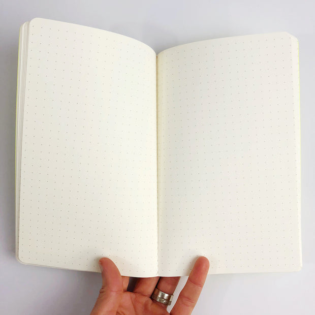 Space Rainbow Dot Grid Notebook (WHOL)