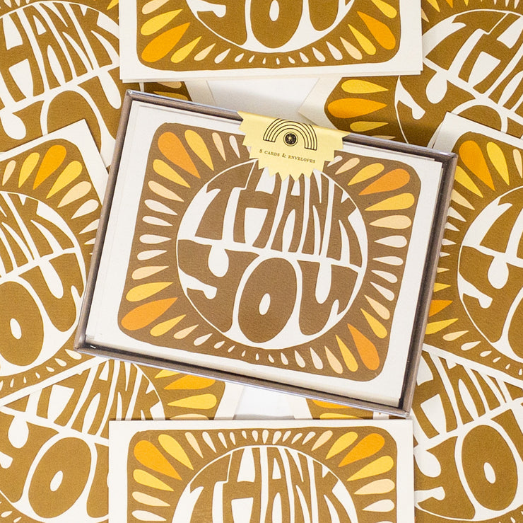 Monarch Thank You Card, Boxed Set (WHOL)