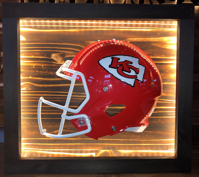 Lighted Football Helmets