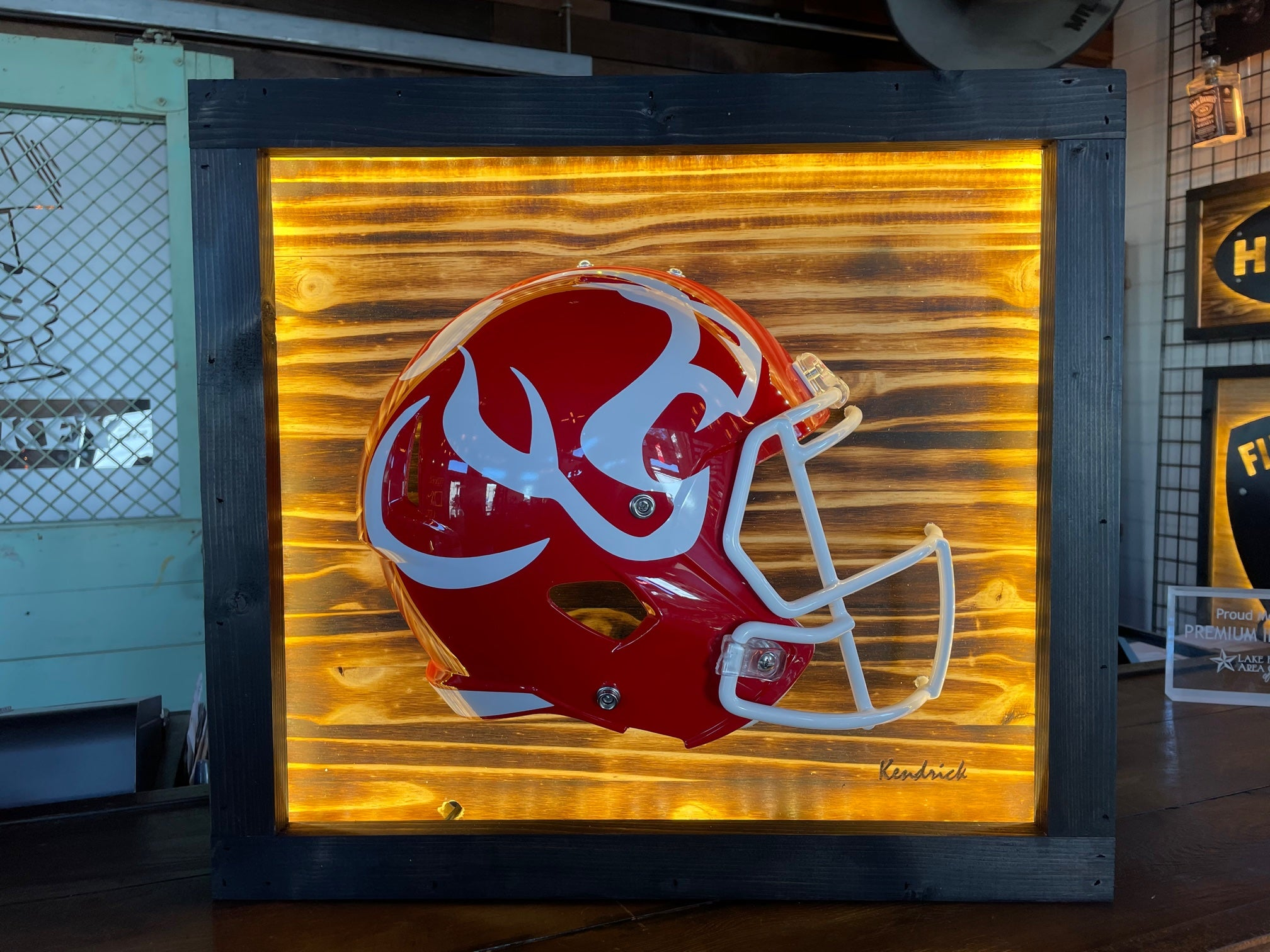 Lighted High School Helmets