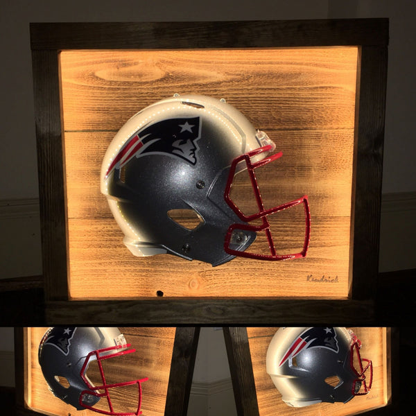 Lighted NFL Helmet