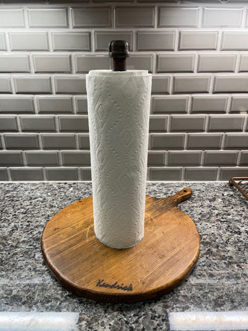 Bread Board Paper Towel Holder