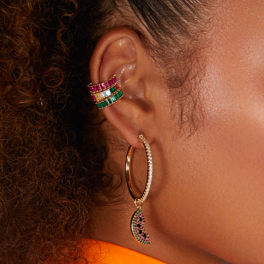 Aurora Rainbow Ear Cuff