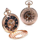 Montre Gousset Rose Or