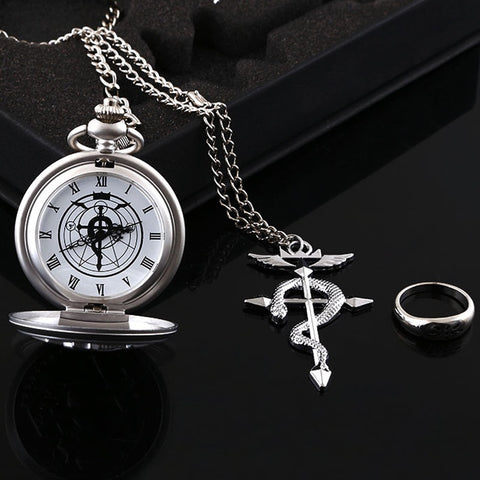 Coffret Montre Gousset<br> Full Metal Alchemist