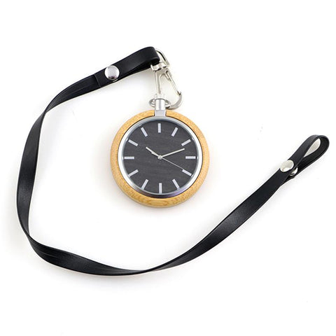 Montre Gousset Bois Contemporaine ∣ Ma Montre Gousset