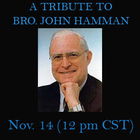 A TRIBUTE TO BRO. JOHN HAMMAN