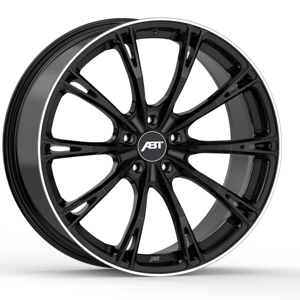 ABT GR20 Glossy Black Alloy Wheel Set For RS3 Sedan 8V