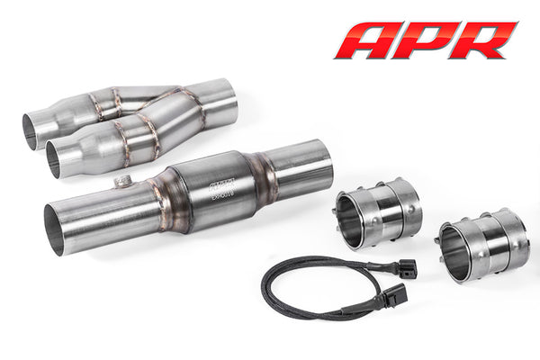 APR Exhaust Midpipe - PQ35 AWD 2.5T Stage 3/3+