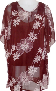 brown-floral-sheer-kaftan