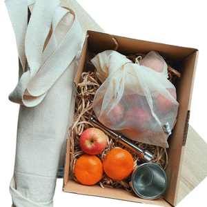 chirstmas gift box canvas pocket bag mesh bag mortar pestle