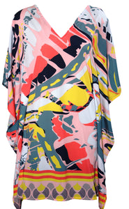 deidaa pink printed kaftan dress