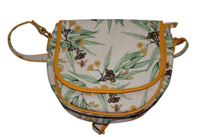 deidaa honey bee gumnut canvas crossbody bag vegan