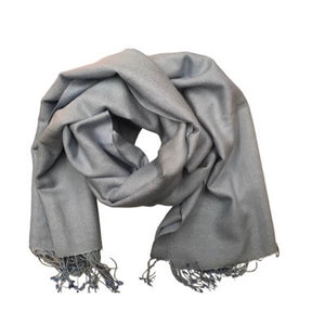 Solid Colour Pashmina Scarf