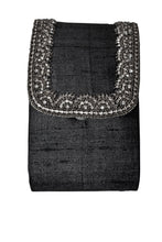 Load image into Gallery viewer, deidaa small beaded party purse black