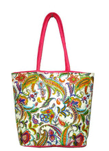 Load image into Gallery viewer, deidaa-vegan-canvas-bag-shopping-tote-paisley
