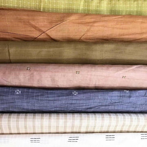 eco fabric tussar peace silk