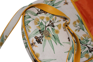 gumnut bee crossbody bag adjustable sling