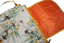 Load image into Gallery viewer, gumnut bee crossbody bag magnetic snaplock