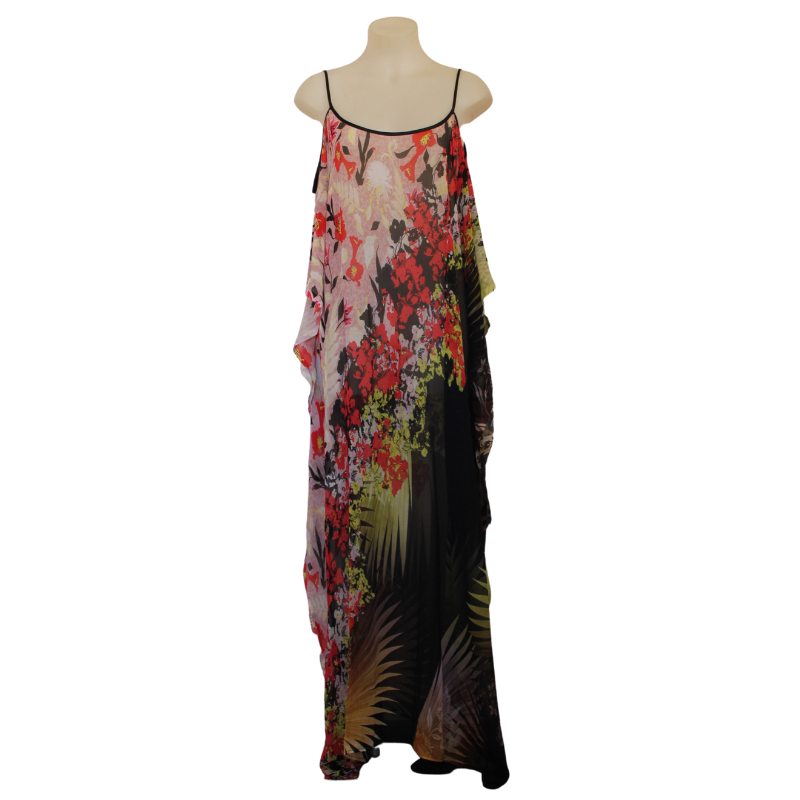 deidaa floral maxi dress plus size