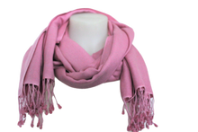 Load image into Gallery viewer, deidaa silk wool pashmina baby pink