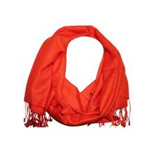 Load image into Gallery viewer, Solid Colour Pashmina Scarf
