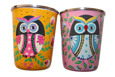 steel owl glasses set kid's gift