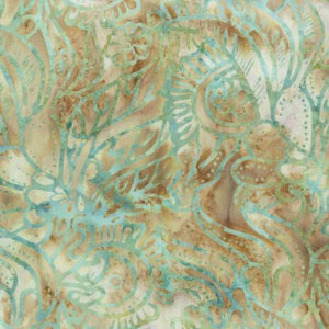 Anthology Art Inspired 220Q-4 Beach Batik puuvillakangas