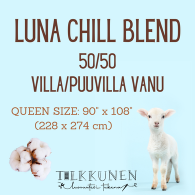 Luna, Chill Blend Queen (50/50 villa-puuvilla)