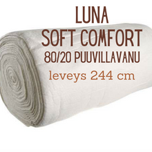 Load image into Gallery viewer, Luna, Soft and Comfort BY96, 80/20 Cotton-Polyester Batting 244 cm
