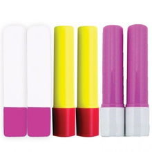 Load image into Gallery viewer, Glue Pen Refill Pack 6 pcs pink-blue-yellow